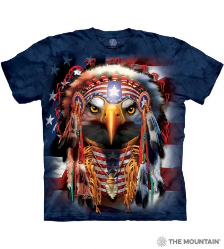 Native Patriot Eagle T-shirt | The Mountain®